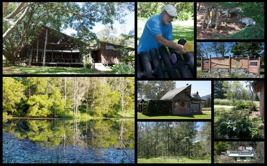 Crystal Waters Eco Village: On the Village Green