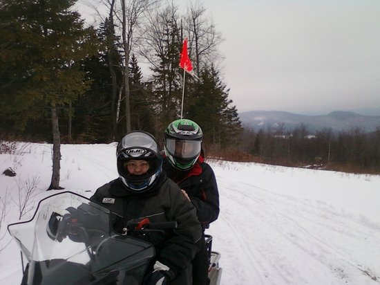 Killington Grand Resort Hotel: Killington snowmobile tour 2 hours