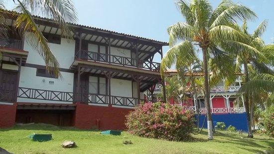 Sol Caribe Campo: Otra de las cabañas.