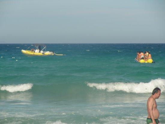 Playa Peiro : Passeio com botes