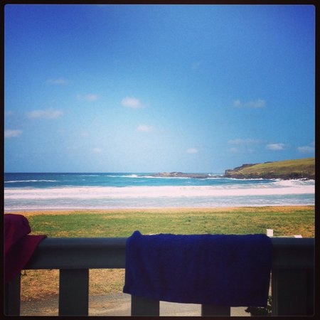 BIG4 Easts Beach Holiday Park: Beach view!