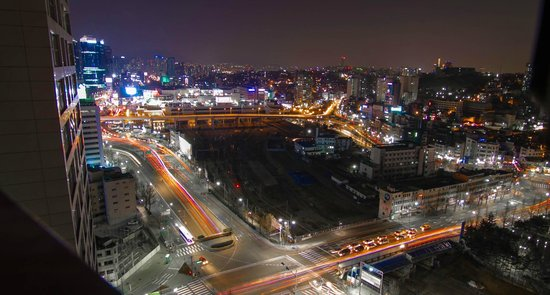 Ramada Hotel and Suites Seoul Namdaemun : View from the 19th floor