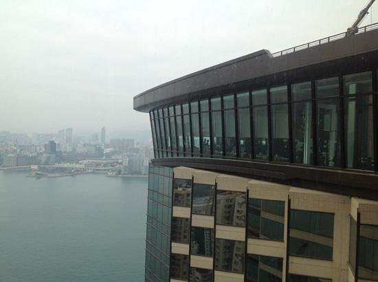 Harbour Grand Hong Kong: The restaurant from the 41st floor taken from club lounge