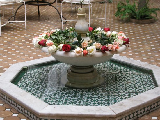 Riad Rafaële : Courtyard