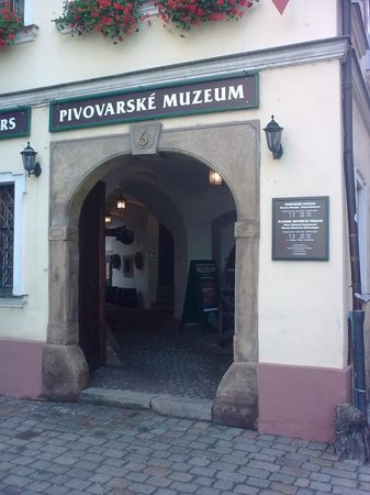 Brewery Museum: Museum entrance