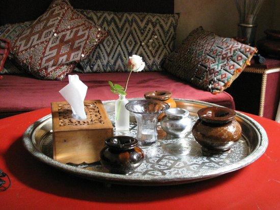 Riad Rafaële : Lounge area