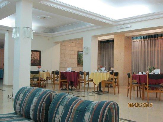 Jerusalem Panorama Hotel: Холл отеля