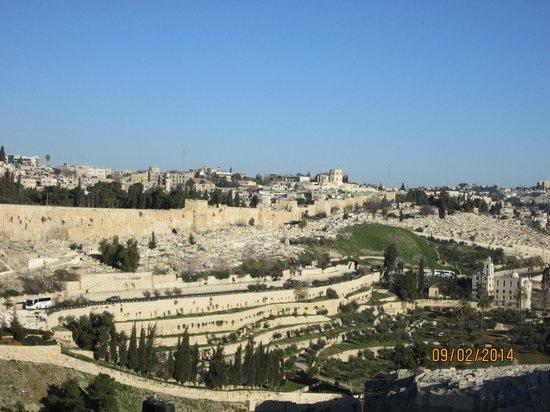 Jerusalem Panorama Hotel: Вид из номера