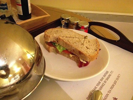 Whittlebury Hall: The small and overpriced BLT
