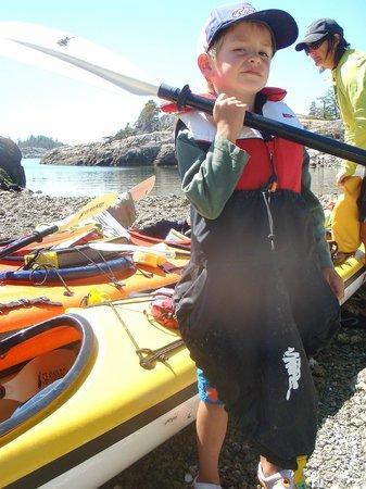 Footprint Nature Explorations: Footprint Kid Friendly Kayak Adventures