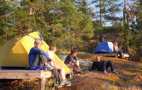 Footprint Nature Explorations: Footprint Camping in BC Marine Parks