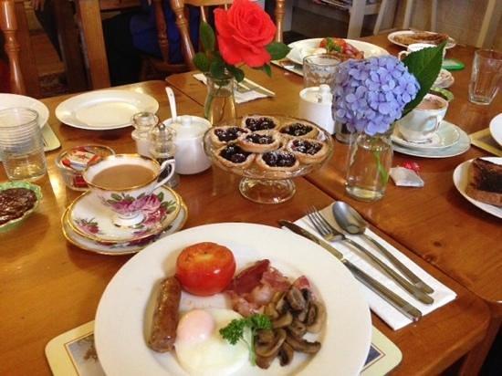 Bonney's Inn : Our sumptuous breakfast