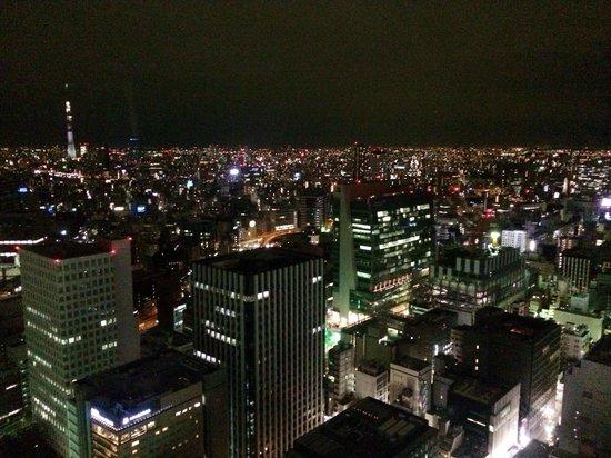 Nadaman Shangri La Hotel Tokyo: Lovely view of Tokyo