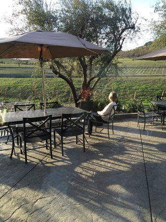 Lonnie's Wine Tours & Transportation: A mellow end to the day at Fontanella winery