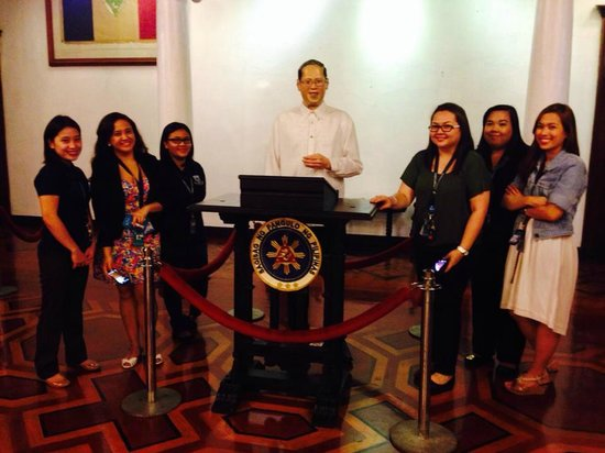 Presidential Museum and Library: With President Aquino