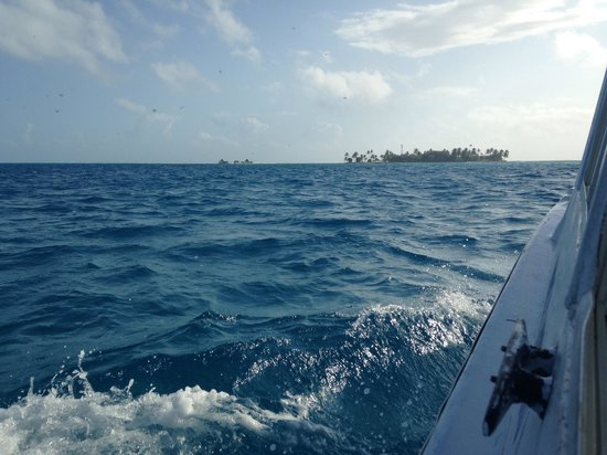 San Andres Unlimited (Miss Behave Glass Bottom Boats) : Beautiful views