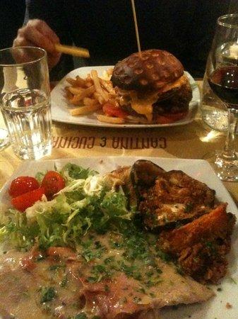 Hamburger e saltimbocca foto van cantina cucina rome tripadvisor - Cucina e cantina ...