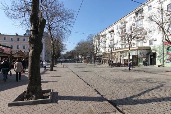 Rue Deribasovskaya : Наша Дерибасовская - ждем вас в Одессе!