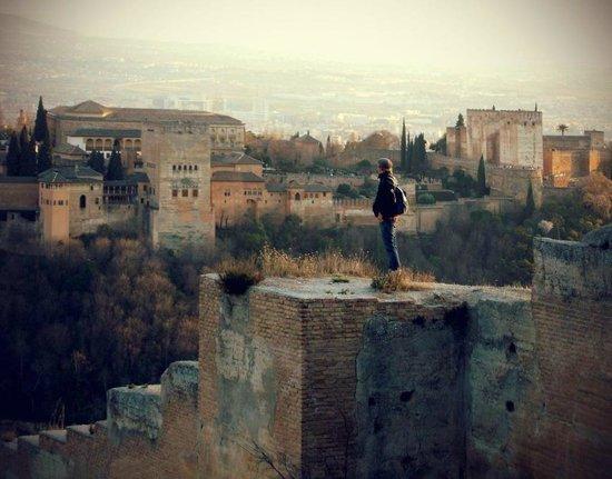 Casa Montalbán Apartamentos: La Alhambra desde el Albaicín
