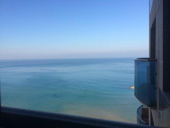 Leonardo Plaza Hotel Haifa: View from room 1662