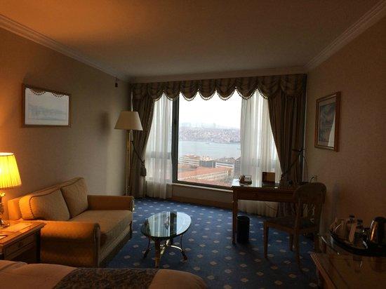 InterContinental Istanbul: Particolare della camera