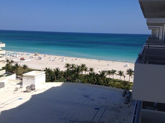 Loews Miami Beach Hotel: View from room1032 not too shabby