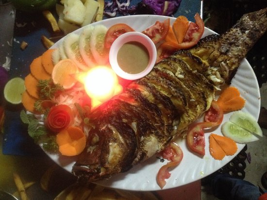 Shining Star Restaurant and Bar: RED SNAPPER