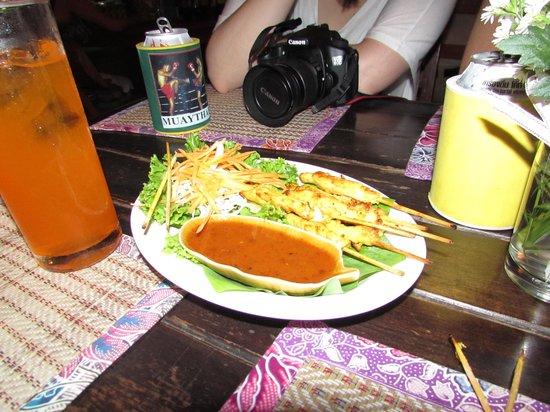 Sawasdee: Chicken Satay