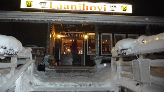 Hotel Laanihovi: hotel front view
