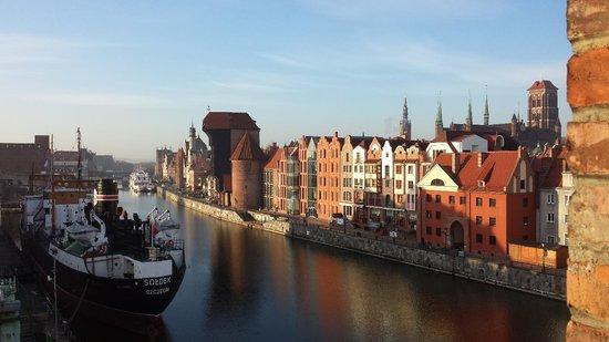 Krolewski Hotel: Ausblick auf die Altstadt