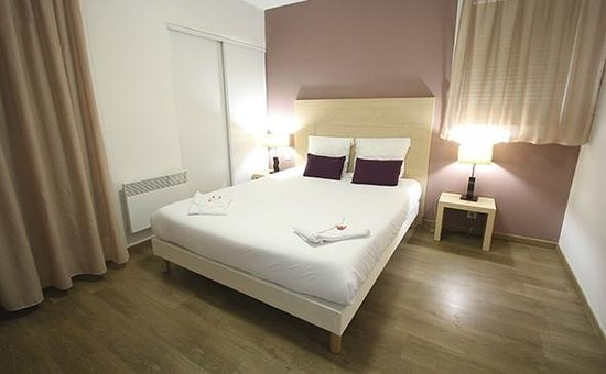 Park suites elegance toulouse purpan chambre photo de for Appart city prix
