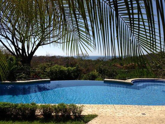 Hotel Luna Azul: Pool mit Blick aufs Meer