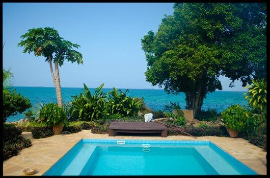 Zanzi Resort: The Pool and the Ocean