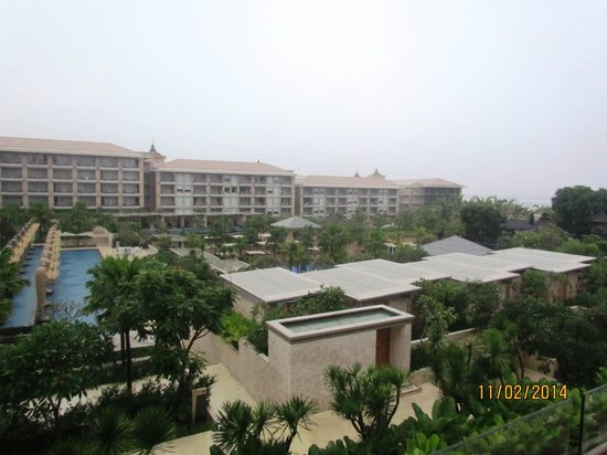 Mulia Resort: View from our balcony
