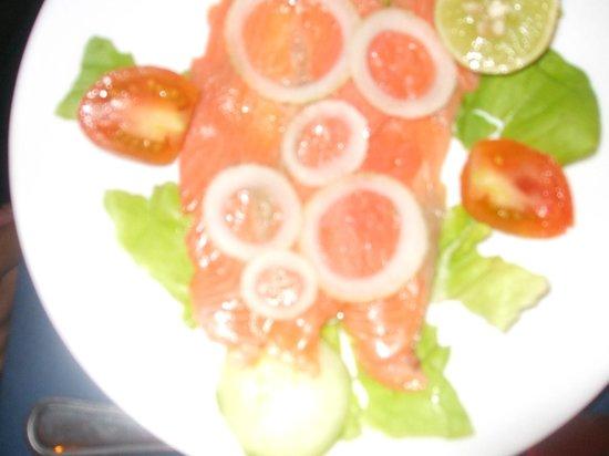 L'Houstalet Restaurant: Saumon fumé