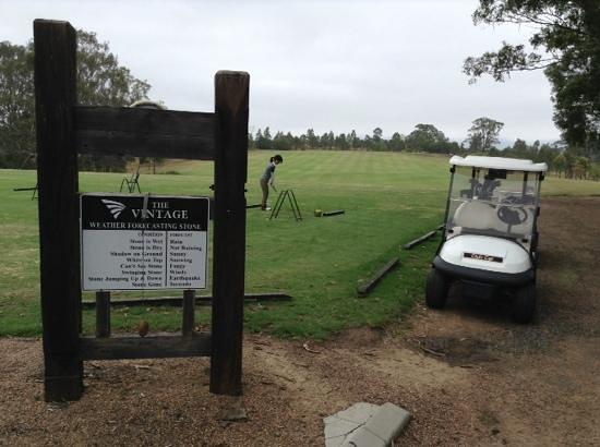 Chateau Elan Hunter Valley: シャトーエラン併設のゴルフ場