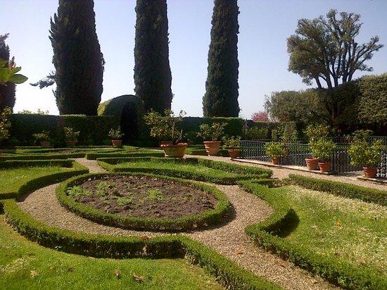 Siena Tours by Barbara: Italian garden and park at Certosa di Pontignano