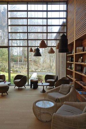 Seehotel Wilerbad: Aufenthaltsraum im Spa
