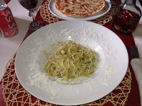 Pizzeria Mandala: Tagliatelle Pesto