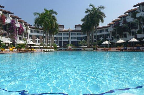 Lanka Princess: Blick aufs Hotel