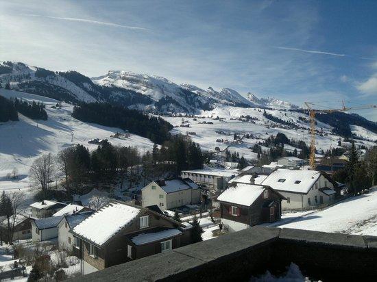 Hotel Hirschen: Aussicht