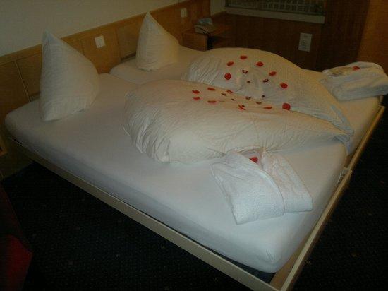 Hotel Hirschen: Schöne Überraschung zum Valentinstag