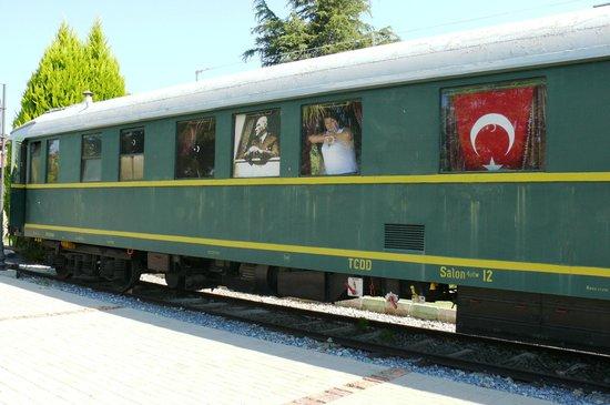Camlik Locomotive Museum: Вагон Ататюрка