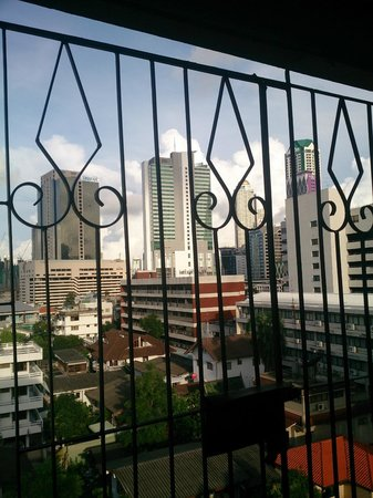 The Heritage Hotel Sathorn : ベランダ
