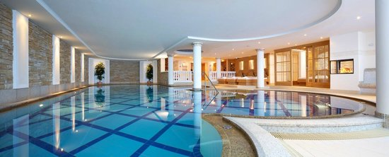 Alpin Lodge Das Zillergrund: Pool 19 m Länge