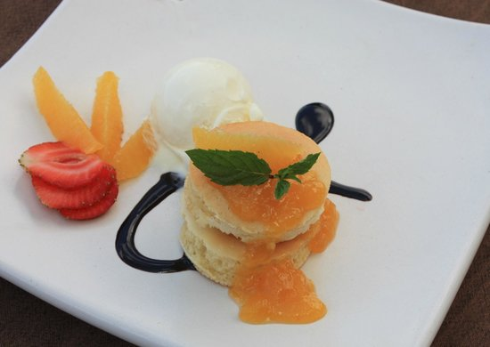 Wapa's Restaurant: Orange Pancake