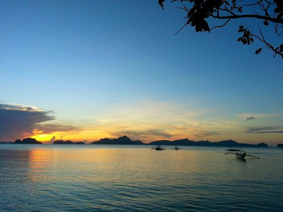 El Nido Four Seasons Resort: La vista dal'hotel