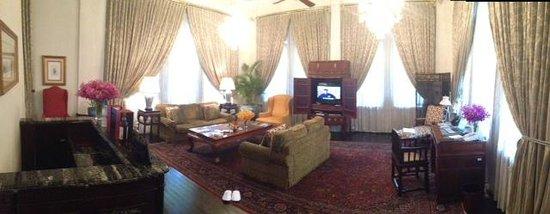 Raffles Hotel Singapore: Presidential Suite Parlour