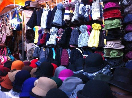 Old Spitalfields Market : Inside market