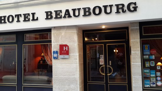Hotel Beaubourg : front